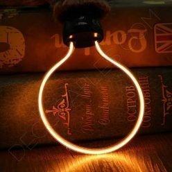 Bombilla de filamento LED serie Art Geométrica E27 cálida