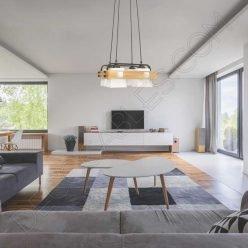 Lámpara de techo estilo nórdico contemporáneo modelo Arendal