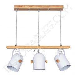 Lámpara de techo estilo nórdico contemporáneo modelo Molde