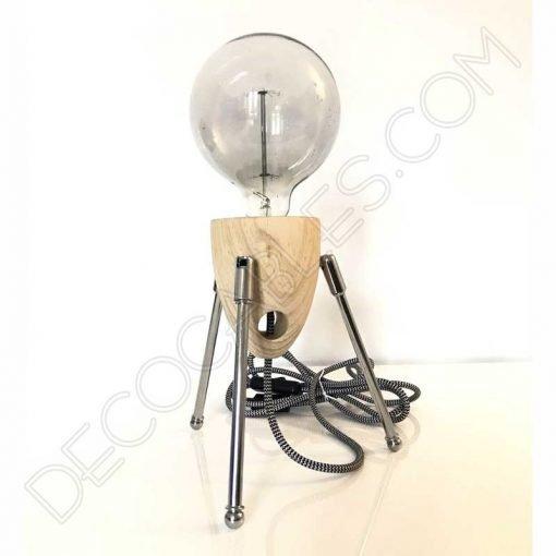 Lámpara de sobremesa modelo cohete espacial Sputnik