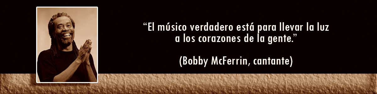 Bobby McFerrin lámparas Decocables