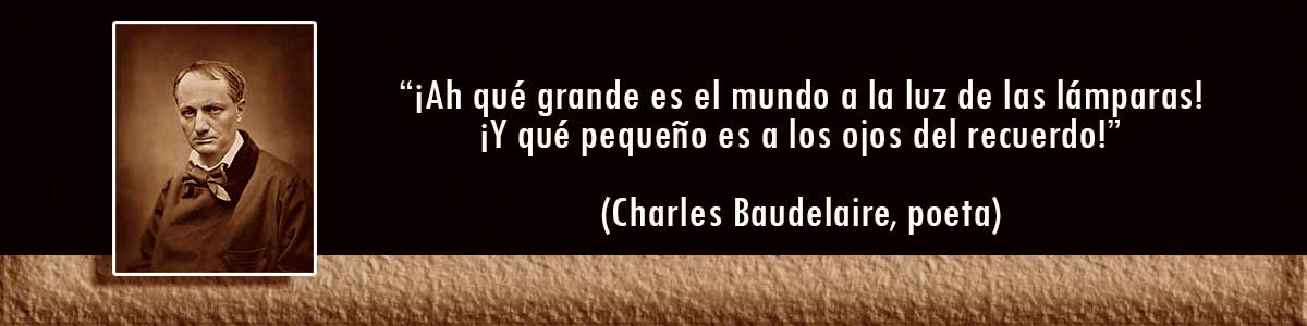 Charles Baudelaire Lámparas Decocables