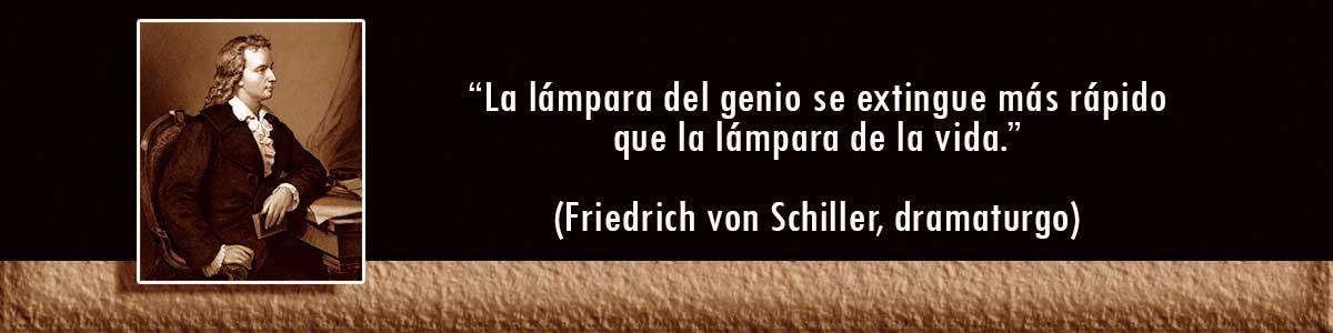 Friedrich von Schiller Lámparas Decocables