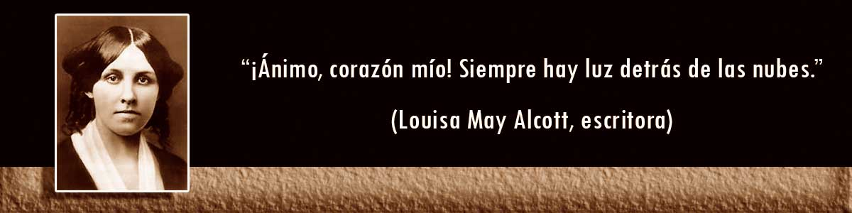 Louisa May Alcott lámparas Decocables
