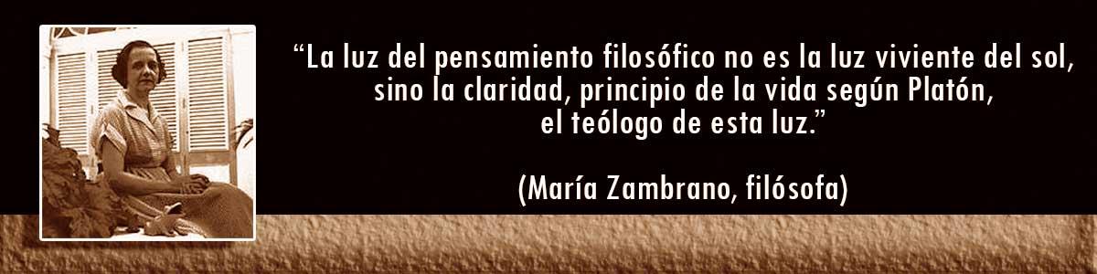 María Zambrano lámparas Decocables