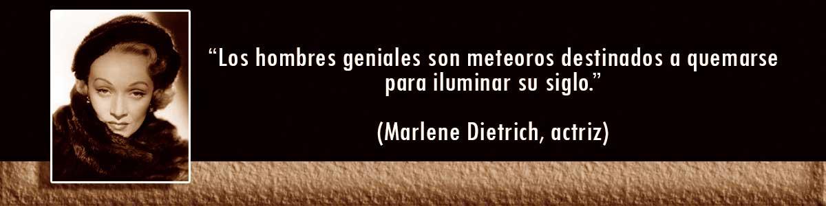 Marlene Dietrich lámparas Decocables