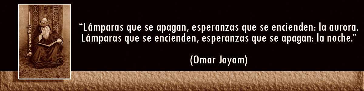 Omar Jayam Lámparas Decocables