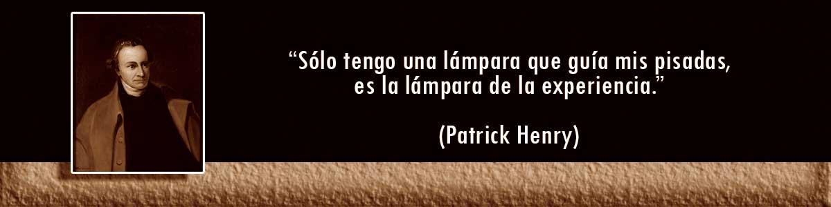 Patrick Henry Lámparas Decocables