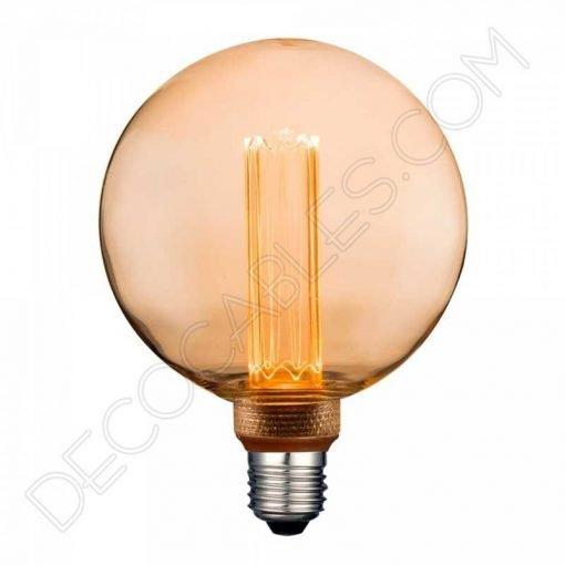 Bombilla Edison globo decorativa Vintage ámbar