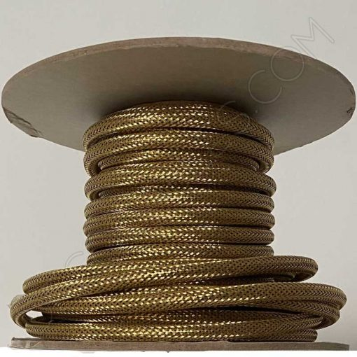 cable eléctrico forrado de malla metálica 3x0.75