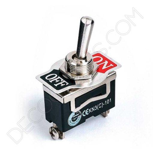 Interruptor de palanca unipolar on/off